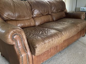 Leather Couch for Sale in Pflugerville,  TX
