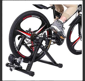 Jiaju Bike Trainer Stand Magnetic Bicycle Stationary Stand for Indoor Exercise Cycling Mountain Bike for Sale in St. Louis, MO