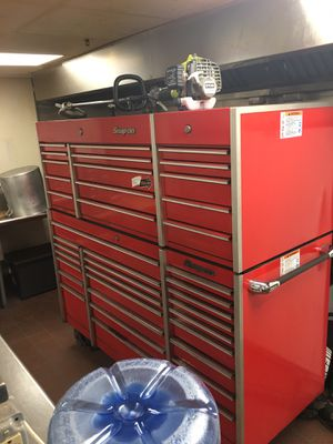 Snap-on tool box (double stack) for Sale in Bridgewater, MA