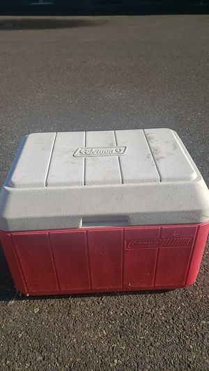 Coleman cooler for Sale in Portland, OR