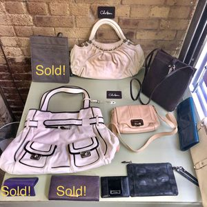 $15-$95 Many COLE HAAN HANDBAGS/ CLUTCHES/WALLETS (Tribeca Manhattan) for Sale in New York, NY