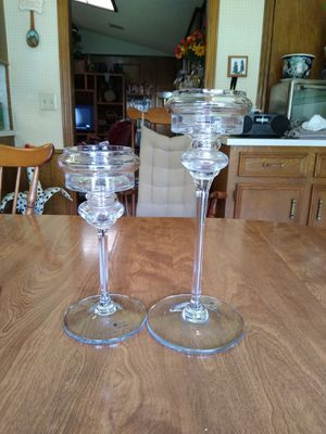 Pair of candle holders for Sale in Richardson, TX