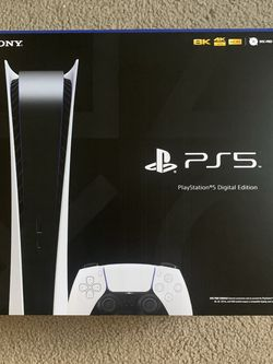 PS5 PlayStation 5 Digital Edition Console - Brand New, Sealed for Sale in Clovis,  CA