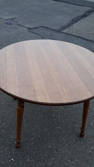 Maple dining room table with formica table and chairs for Sale in Bremerton, WA
