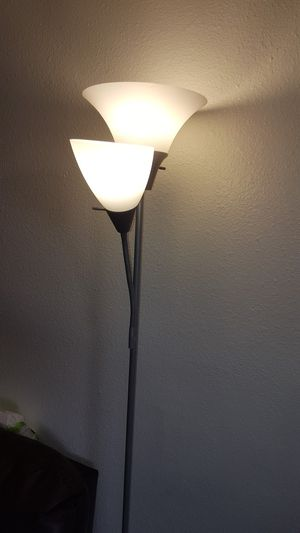Floor lamp (silver) for Sale in Kent, WA