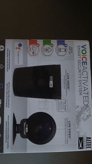 Altec voice activated smart security system for Sale in Seattle, WA