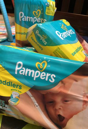 Pampers size 1 for Sale in Bowie, MD
