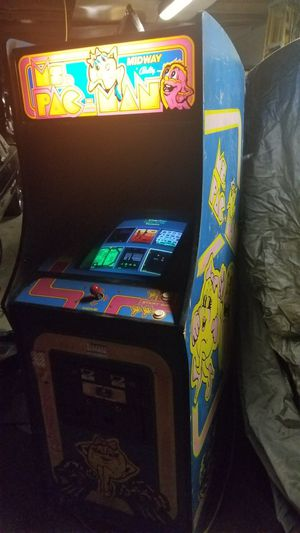 MRS PACMAN Arcade Machine Coin operated for Sale in Pittsburgh, PA