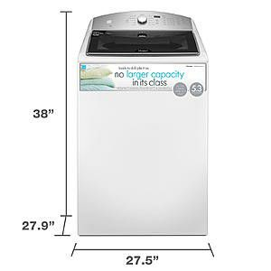 Whirlpool cabrio top load washer 5.3 cu.ft