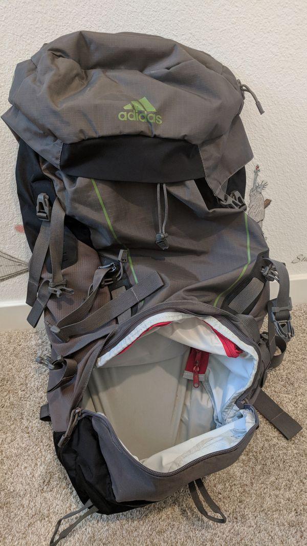 3bf47e26c4ee Adidas super trekking 60L waterproof backpack for Sale in San Jose ...