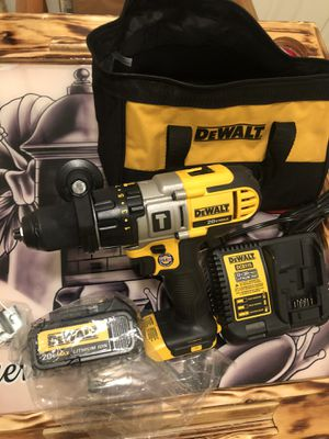 Dewalt hammer drill new with bag charger and battery for Sale in Yonkers, NY