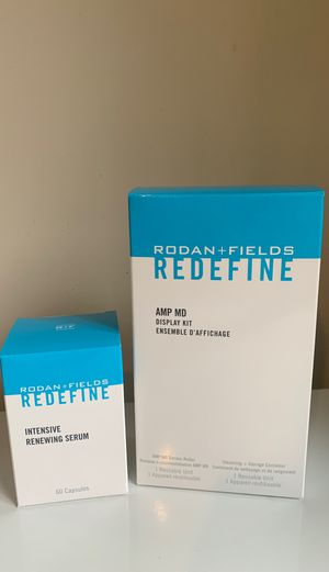 Rodan and Fields REDEFINE AMP MD Roller and Intensive Renewing Serum for Sale in Seattle, WA