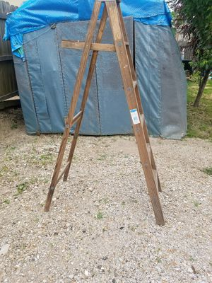 Wooden ladder 6 feet tall for Sale in Webster Groves, MO