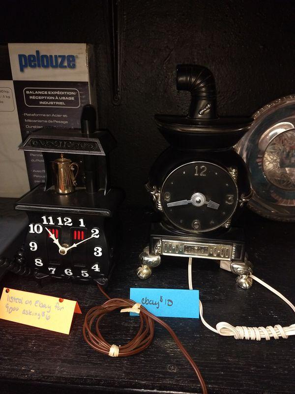 Antique working clocks