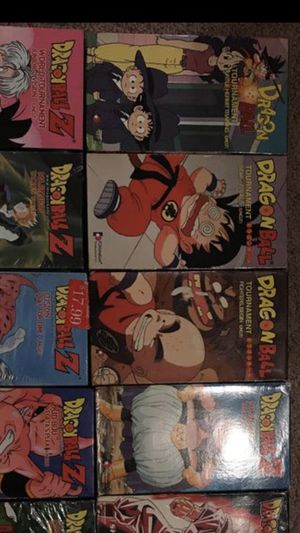 Dragon ball and Dragon ball Z VHS Small collection for Sale in Waterbury, CT
