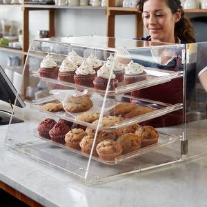 Choice 3 Tray Bakery Display Case with Rear Doors for Sale in North East, PA