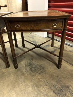 Sturdy Wood End Tables Set of 2 for Sale in Solon, OH