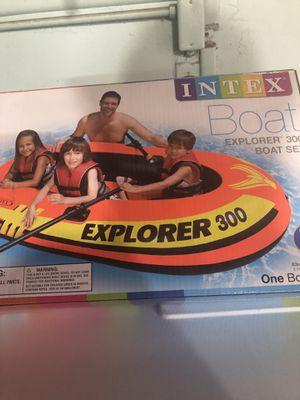 Intex Boat Explorer 300 Set Brand New for Sale in La Mirada, CA
