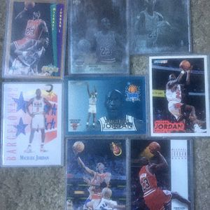 8 Mint Condition Micheal Jordan Cards for Sale in Riverside, CA