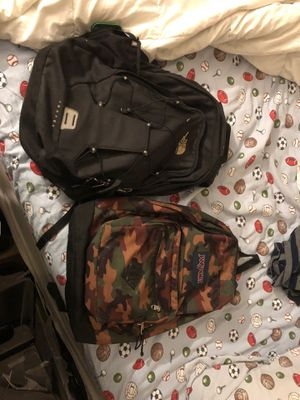 The North Face backpack and Jansport for Sale in Sunnyvale, CA