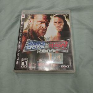 SMACKDOWN VS RAW 09 PS3 for Sale in San Jose, CA