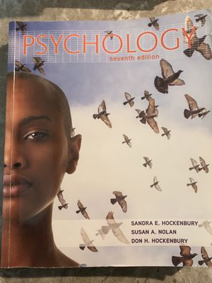 Psychology (7th Edition) Sandra e. Hockenbury, Susan A. Nolan, Don H. Hockenbury for Sale in Silver Spring, MD