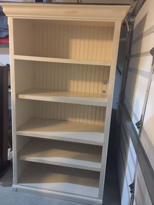 Off-White Bookcase for Sale in Snohomish, WA