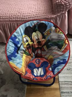 Folding Mickey Mouse Chair for Sale in Clifton,  NJ
