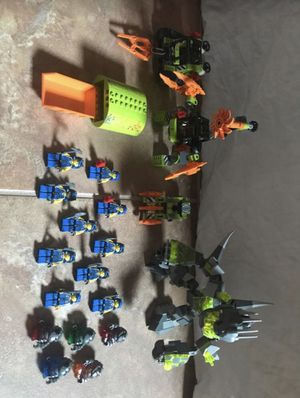 LEGO Power Miners minifigures and vehicles for Sale in Garden Grove, CA