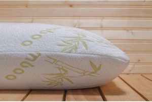 Shredded memory foam bamboo pillow for Sale in Bridgeview, IL