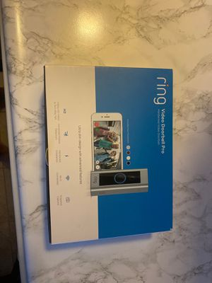 Ring doorbell Pro HARDWIRED. for Sale in Montebello, CA