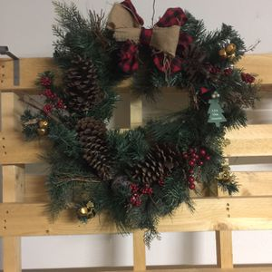 Beautiful Christmas wreath for Sale in Richardson, TX