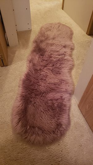 Faux Fur Rug for Sale in East Wenatchee, WA