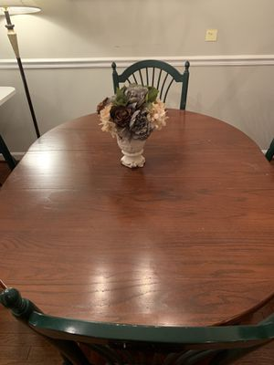Dining table with extension for Sale in Alexandria, VA