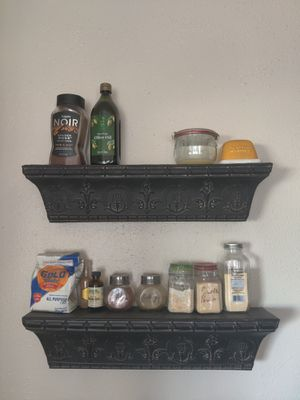 2 Black Wall Hanging Shelves for Sale in Plano, TX