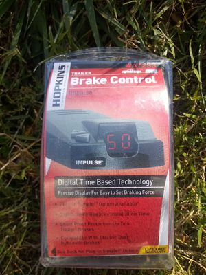 Impulse trailer brake module..** awesome price! for Sale in Hagerstown, MD