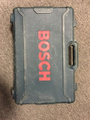 Bosch empty case for Sale in Highland Park, MI