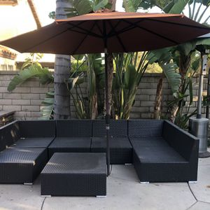 Outdoor Furniture And Fountain ( See Details) for Sale in Chino Hills, CA