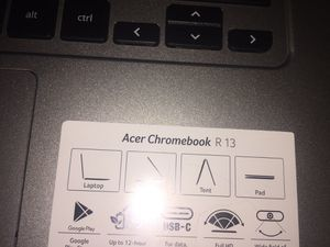 Acer chromebook for Sale in Columbus, OH