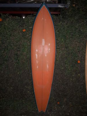 Vintage 70s single fin surfboard for Sale in Lomita, CA