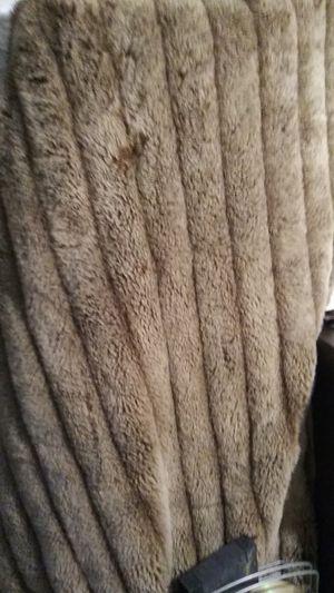 Fur blanket for Sale in La Puente, CA