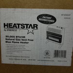 New natural gas heater. 30k btu for Sale in Landrum, SC