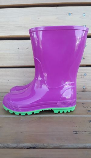 Girl's Pink Rain Boots Size 7-8 for Sale in Glendale, AZ