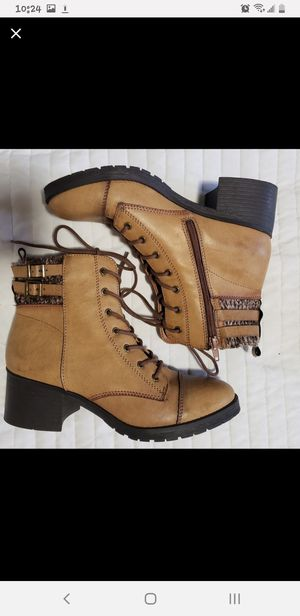 Combat boots size 9.5 for Sale in West Covina, CA