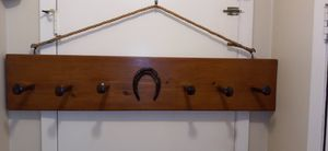 Rustic wooden cost rack for Sale in Orlando, FL