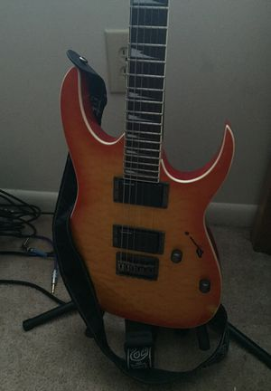 IBANEZ guitar RG3ex1, very nice! with support for Sale in Annandale, VA
