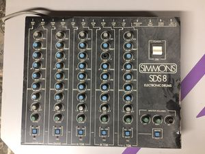 Vintage Simmons SDS 8 electronic analog drum kit for Sale in Watertown, MA