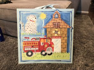 Fire House hanging wall decor for Sale in Jurupa Valley, CA