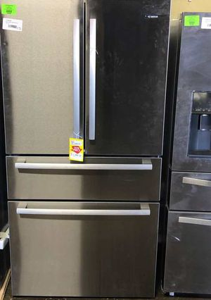 Brand New Bosch 800 Series 36 in. 21 cu. ft. French 4 Door Refrigerator in Stainless Steel with Dual Compressor, Counter-Depth CZV for Sale in Dallas, TX