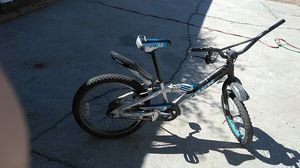 BMX bike trick jet the back tire is flat for Sale in Las Vegas, NV